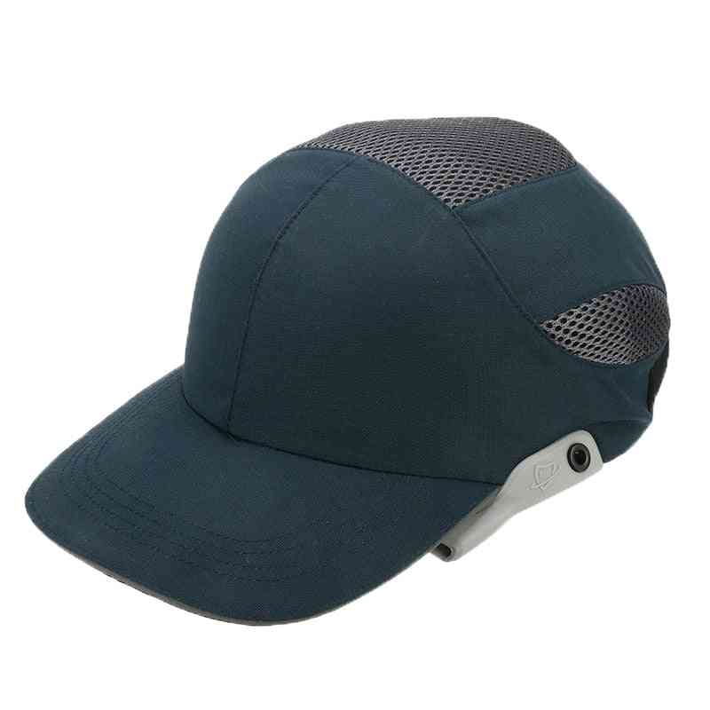 Safety Bump Cap With Reflective Stripes Lightweight And Breathable Hard Hat