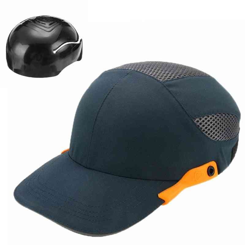Safety Bump Cap With Reflective Head Workplace Construction Site Hat