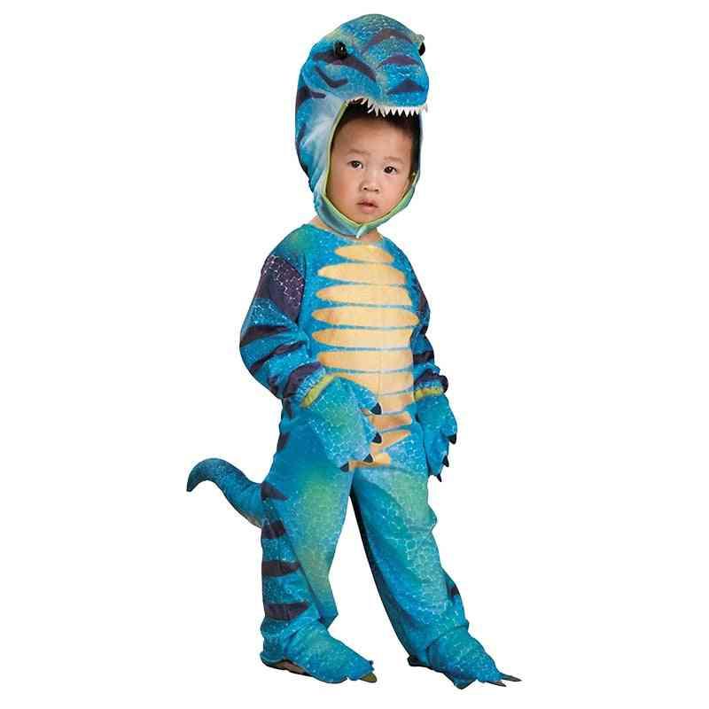 Anime Triceratops Carnival T-rex Dinosaur Costumes Child Jumpsuit