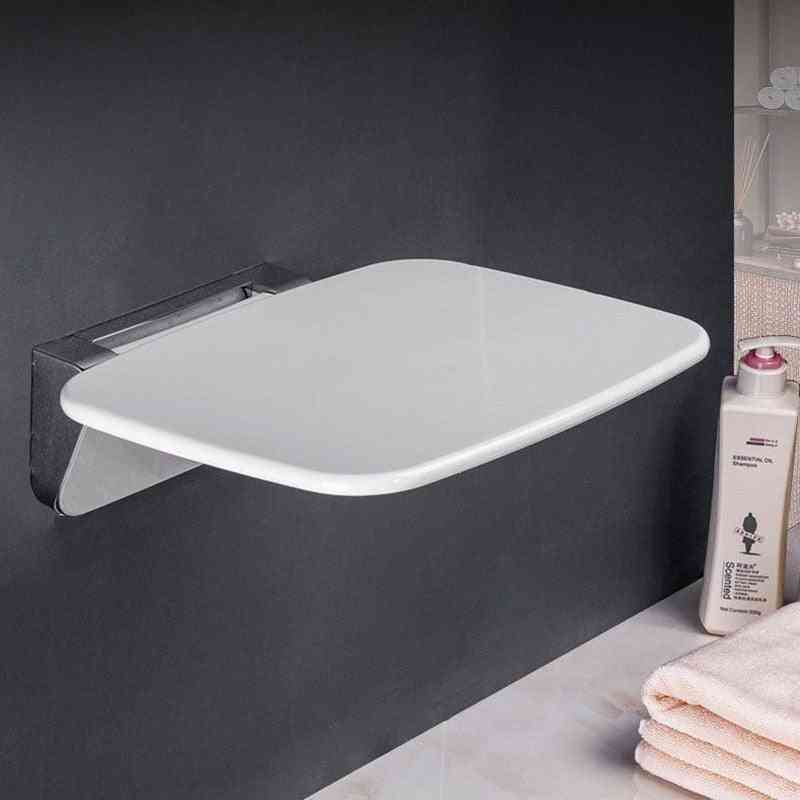 Shower Bathroom Folding Seat Wall Stool
