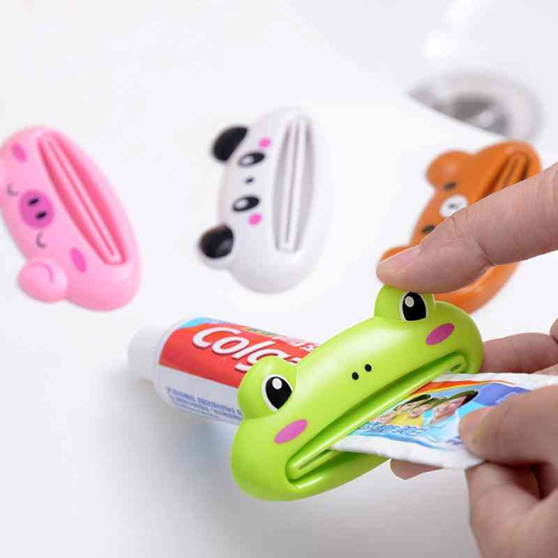 Home Tube Squeezer Easy Cartoon Toothpaste Dispenser Rolling Holder