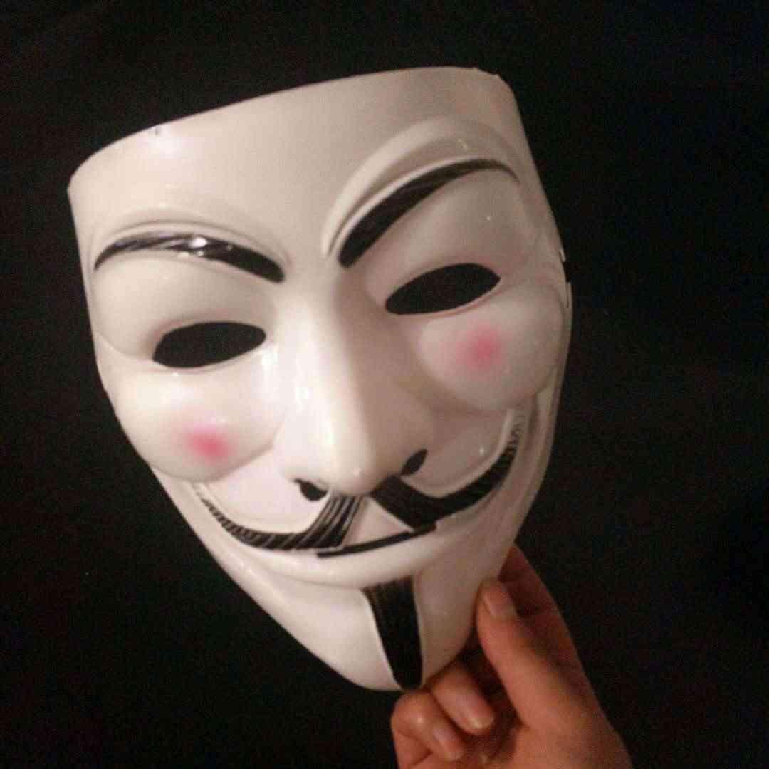 Halloween Masks V For Vendetta Mask Guy Fawkes Anonymous
