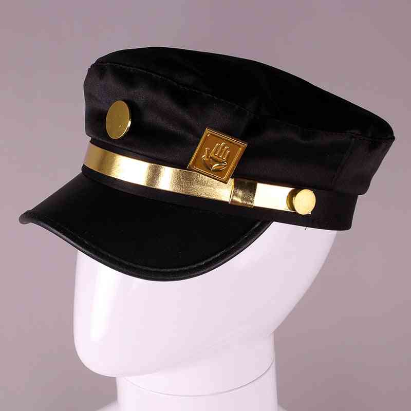 Bizarre Adventure Cosplay Cap Jotaro Kujo Cosplay Accessories Hats