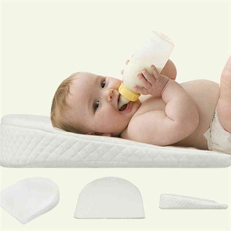 Newborn Baby Sleep Pillow Anti Baby Spit Milk Crib Cot