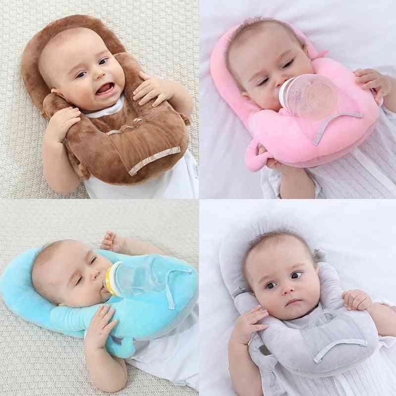 Baby Nursing Pillow Cushion Pure Color Baby Self Feeding Pillow