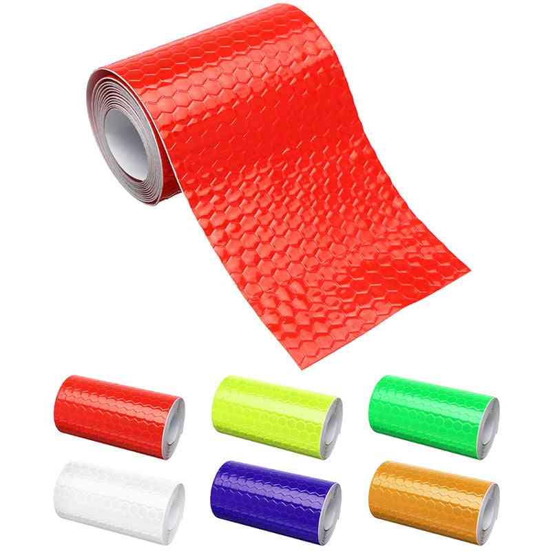 Reflective Bicycle Stickers Adhesive Tape For Bike Safety