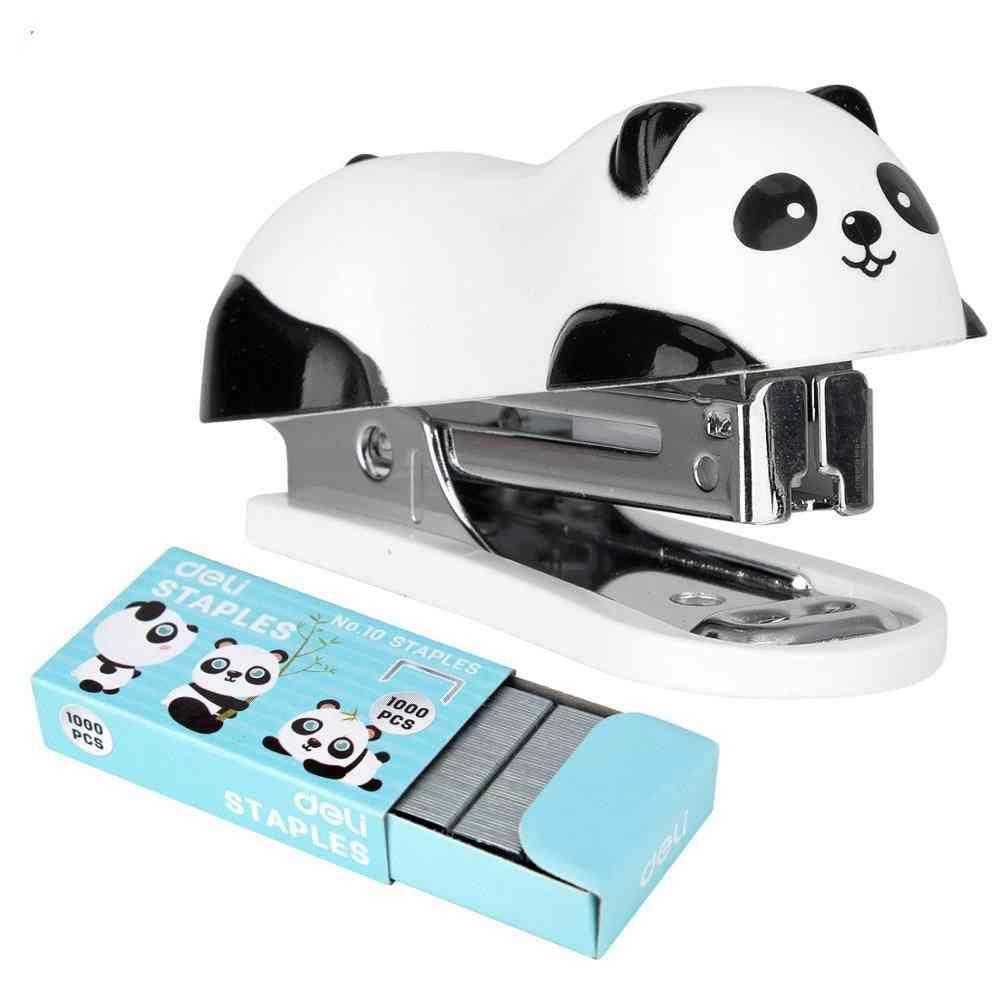 Deli Cartoon Mini Stapler Set