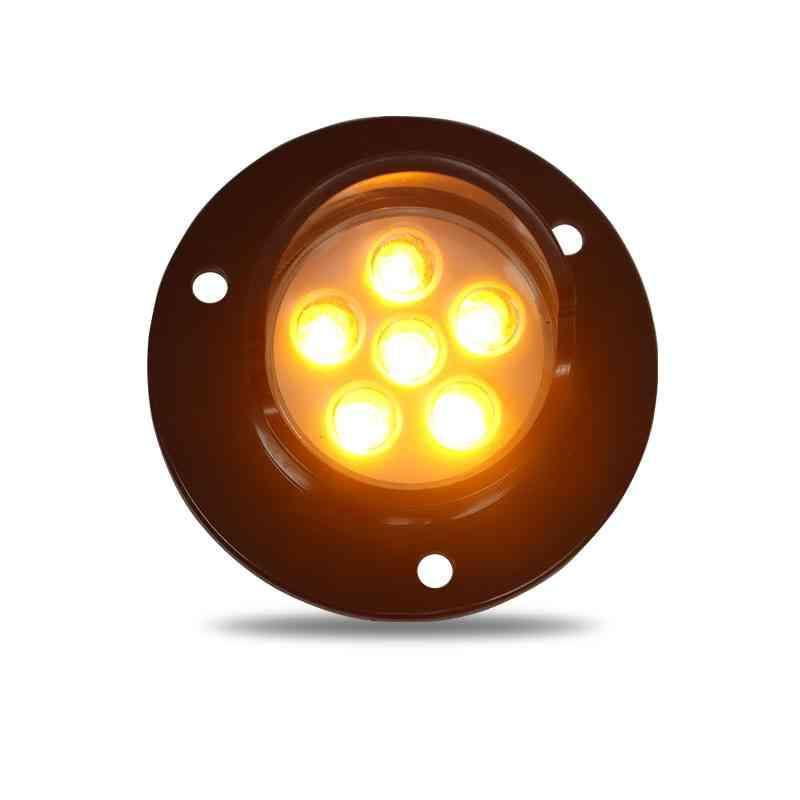 Dc12v 50mm Amber Led Pixel Cluster For Arrow Boards Traffic Light