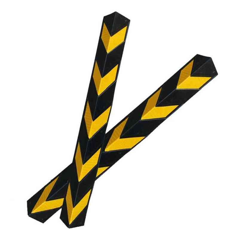 Pvc Reflective Strip Rubber Corner Guard Anti Collision Tape