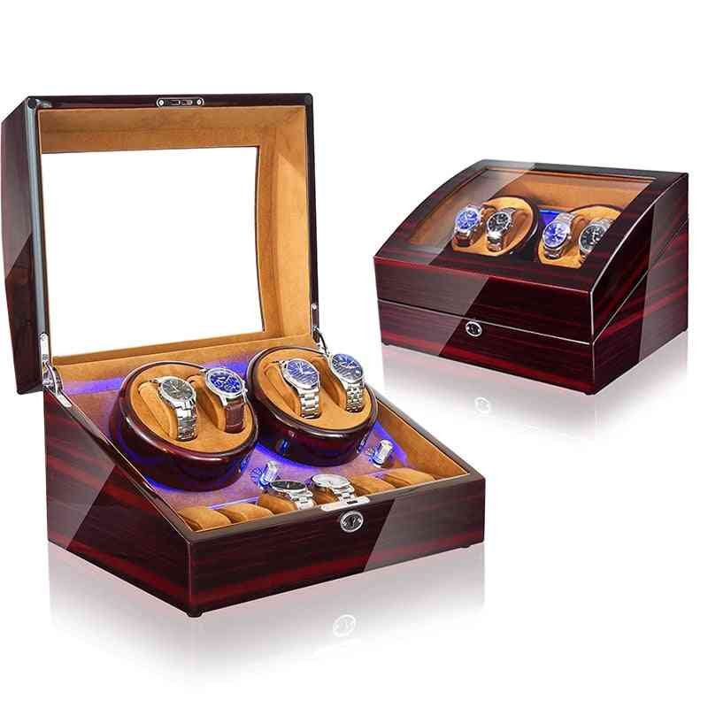Wooden Automatic Watch Winder Motor Box