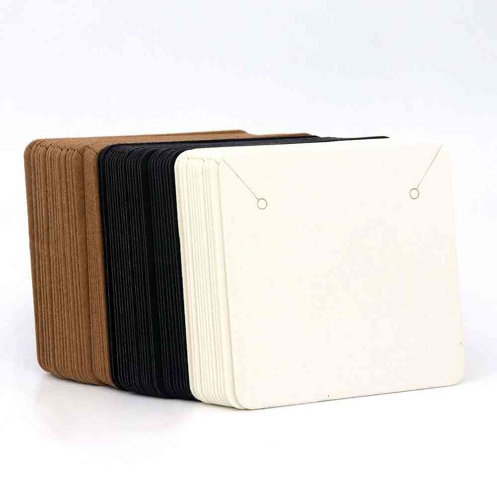 Colorful Square Blank Kraft Paper