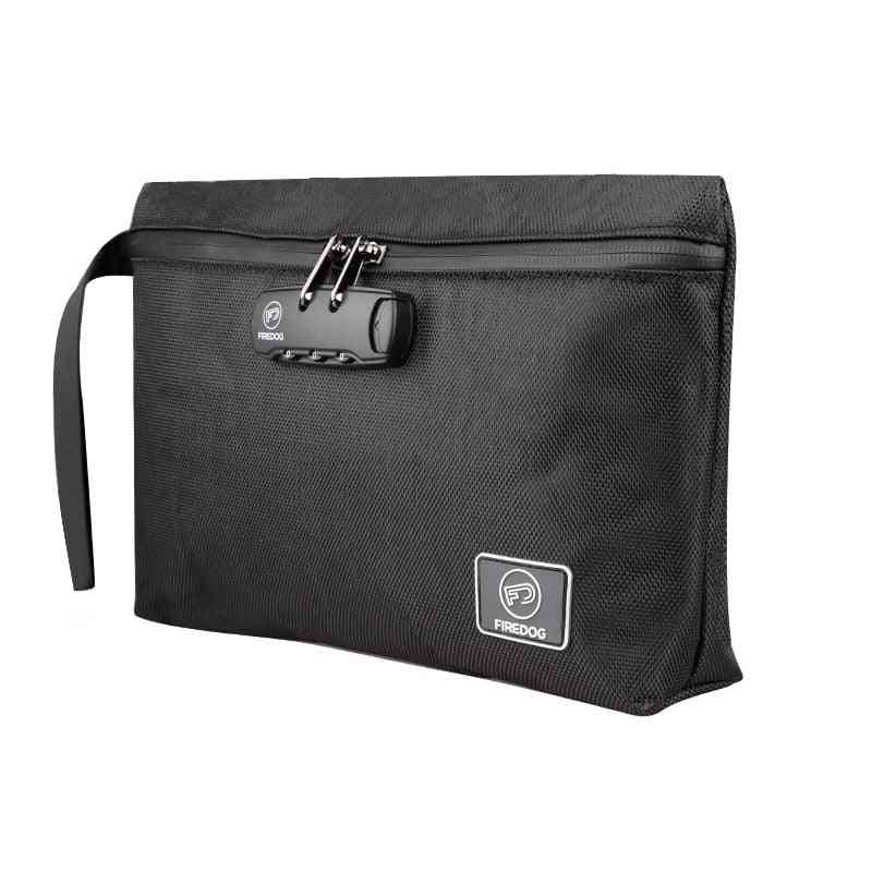 Smell Isolated Waterproof Password Lock Storage Bag