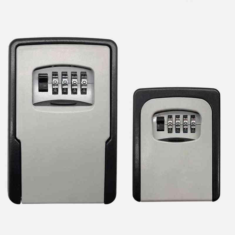 Key Safe Storage Organizer Boxes With 4 Digit Password Spare Keys Organizer Box