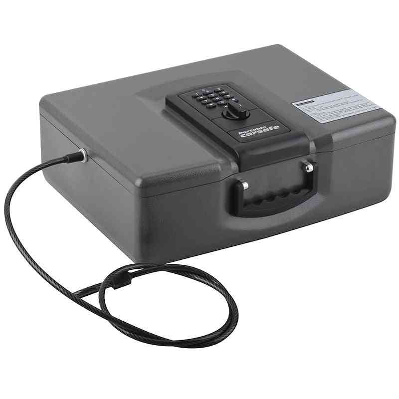 Automobile Safe Deposit Box With Large Capacity And Multi-function Key Box