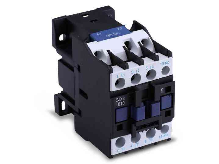 Ac Contactor Cjx2-1810 18a No 3-phase Din Rail Mount Electric Power 24v 36v 110v 220v 380v