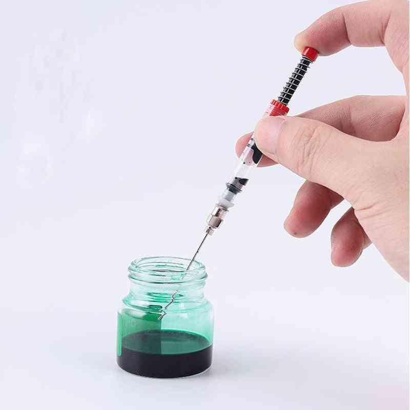 Pen Ink Converter Filler Sac Syringe Device Tool