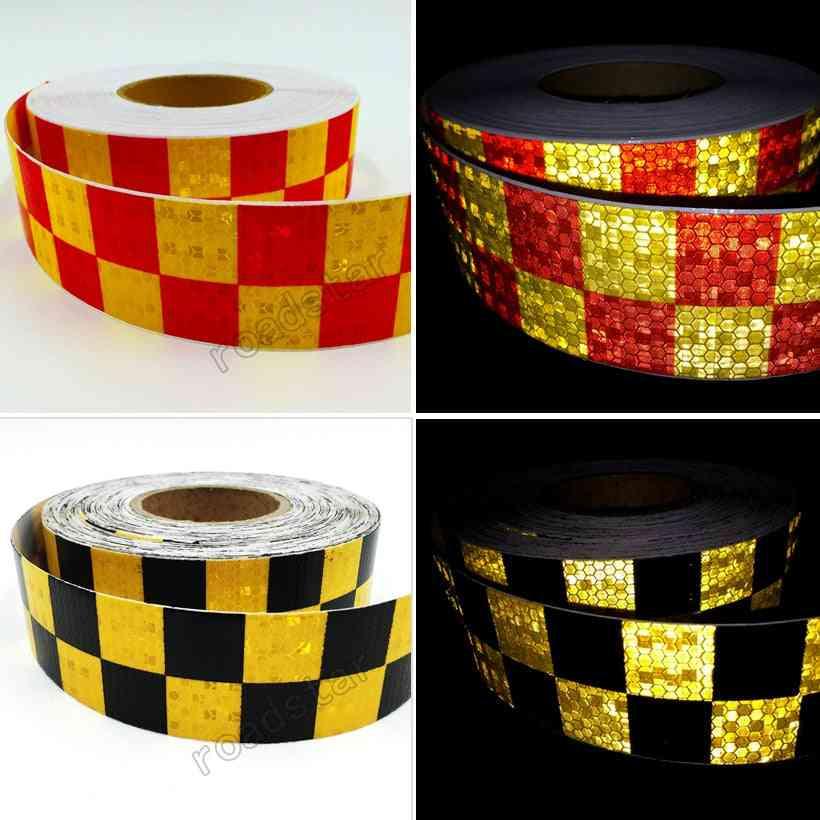 5cm X 50m Adhesive Shining Reflective Warning Tape Printing Reflective Tape