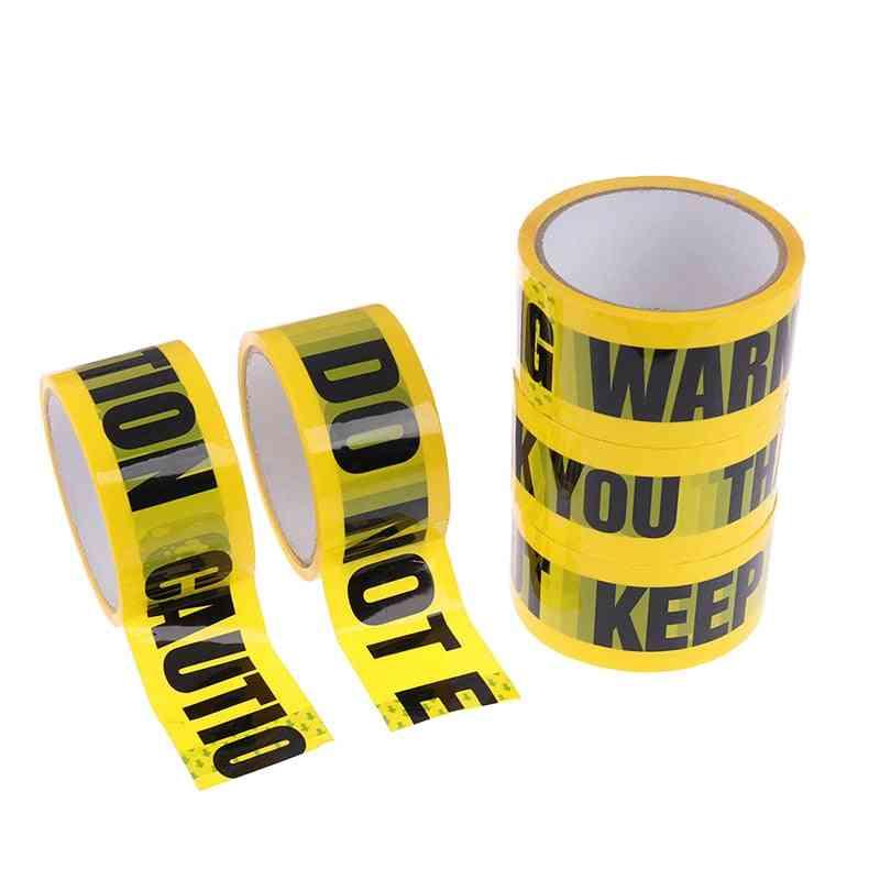 Warning Tape Diy Sticker For Mall Store School Danger Caution