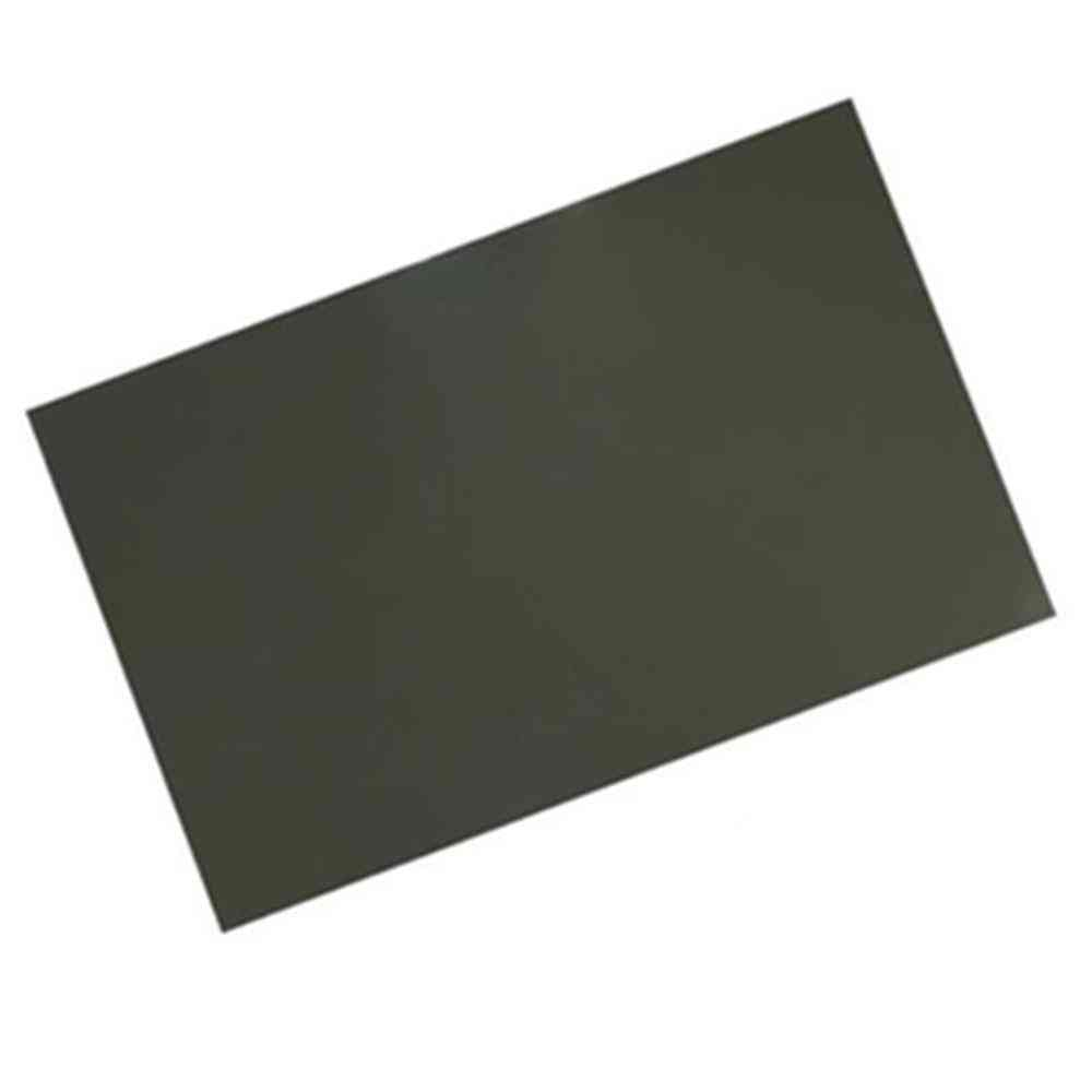 Linear Polarized Filters Sheets, Lcd Polarizer Film, Polarization Lens For Photography.