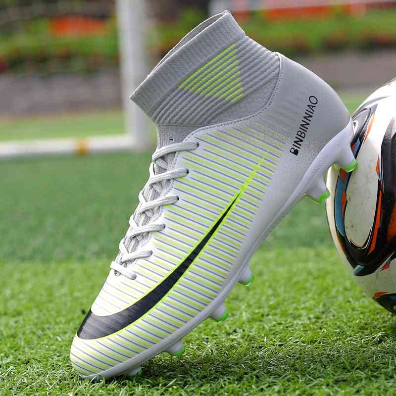 Kids Outdoor Soccer Shoes, Football Boots