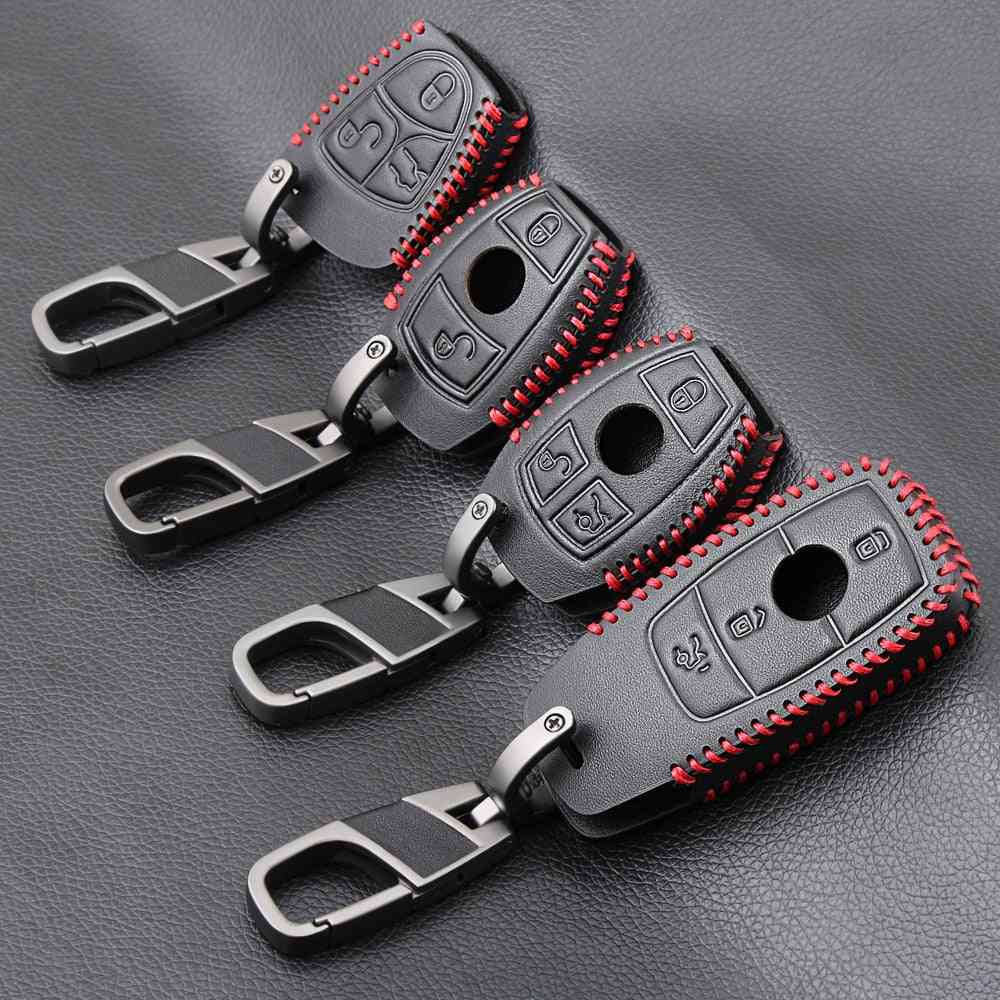 Genuine Leather- Car Key, Case Cover