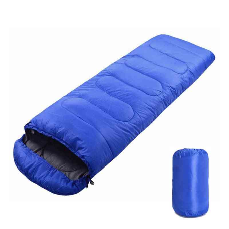 Portable Lightweight Envelope Sleeping Bag With Compression Sack.