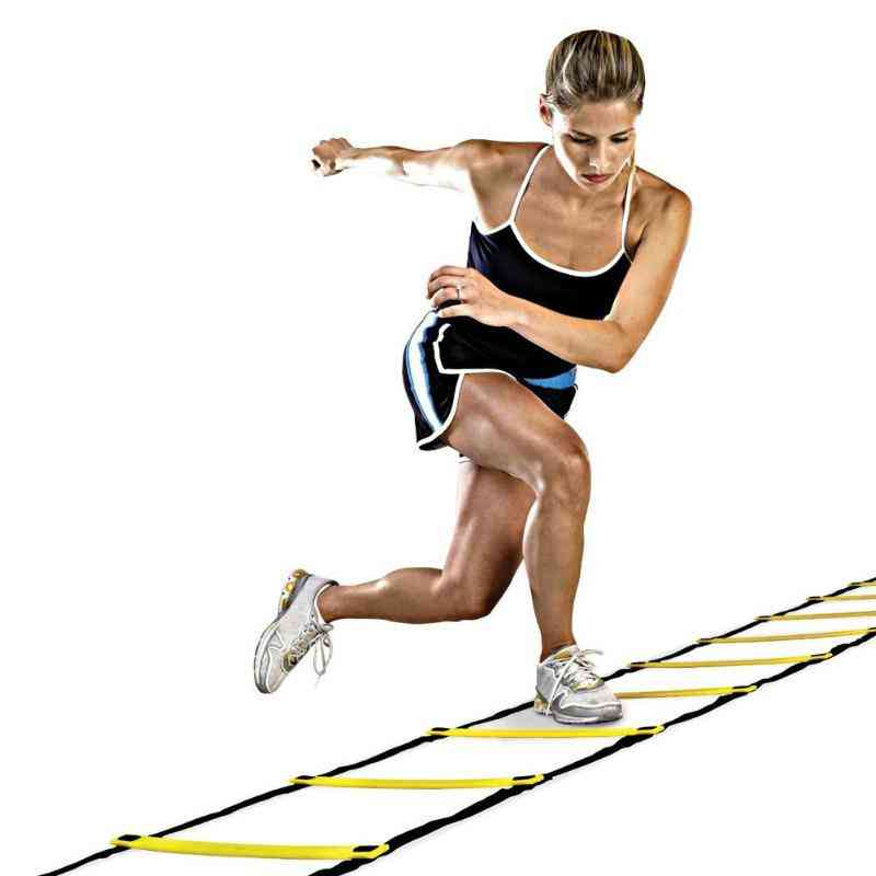 Nylon Straps Training Ladders Agility Speed Ladder Stairs For Soccer.