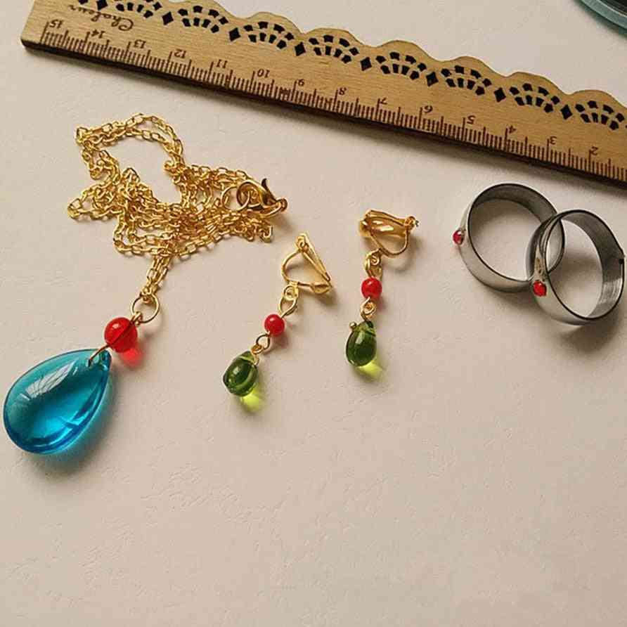Cosplay Costumes Necklace Earring Ring Handmade