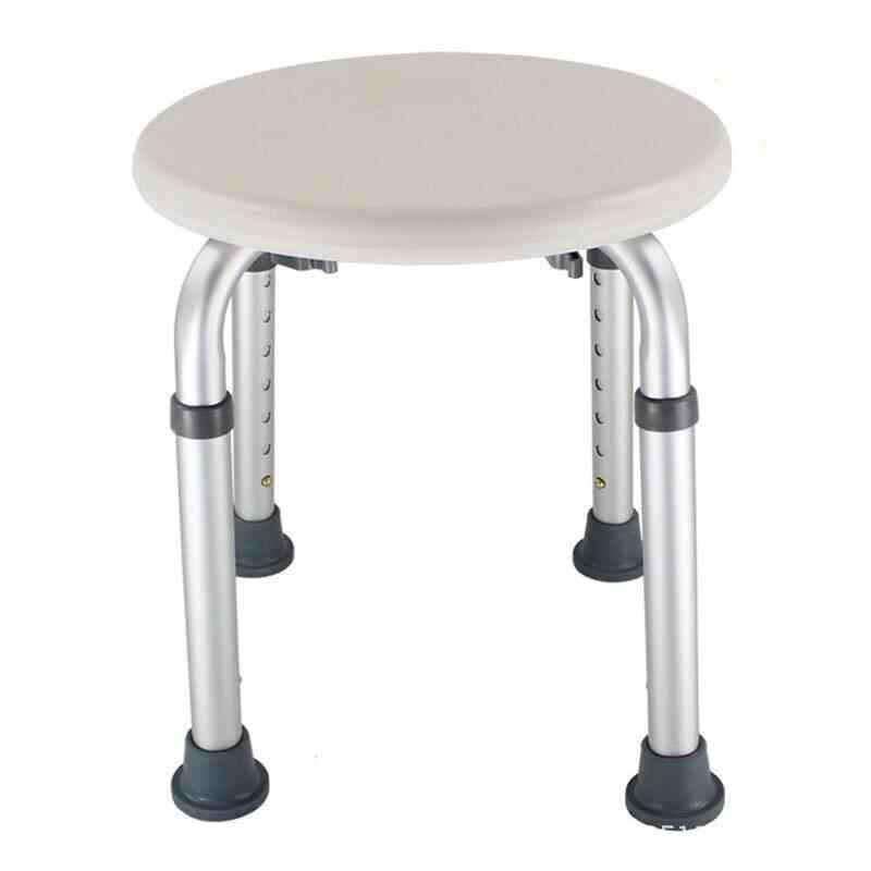 Non-slip Bath Chair Height Adjustable