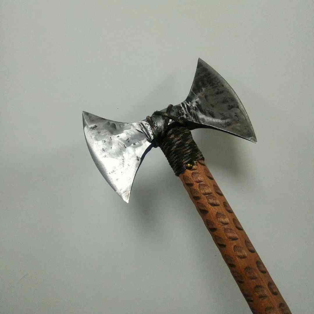 Outdoor Pure Hand Forged Open Mountain Axe
