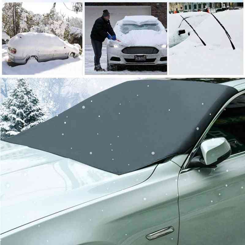 Magnetic Front Windscreen- Snow Ice, Shield Cover, Car Sun Protector