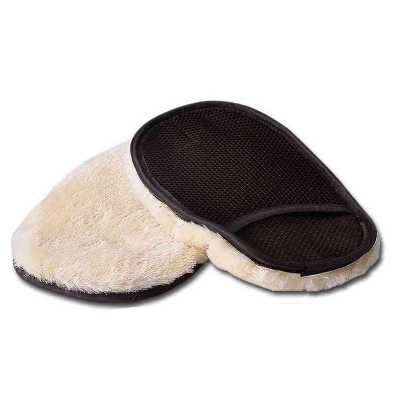 Car Wool Cashmere, Washing Gloves
