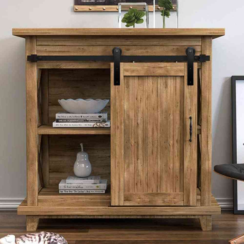 Mini Cabinet Sliding Barn Hardware For Double Door - Home Accessories