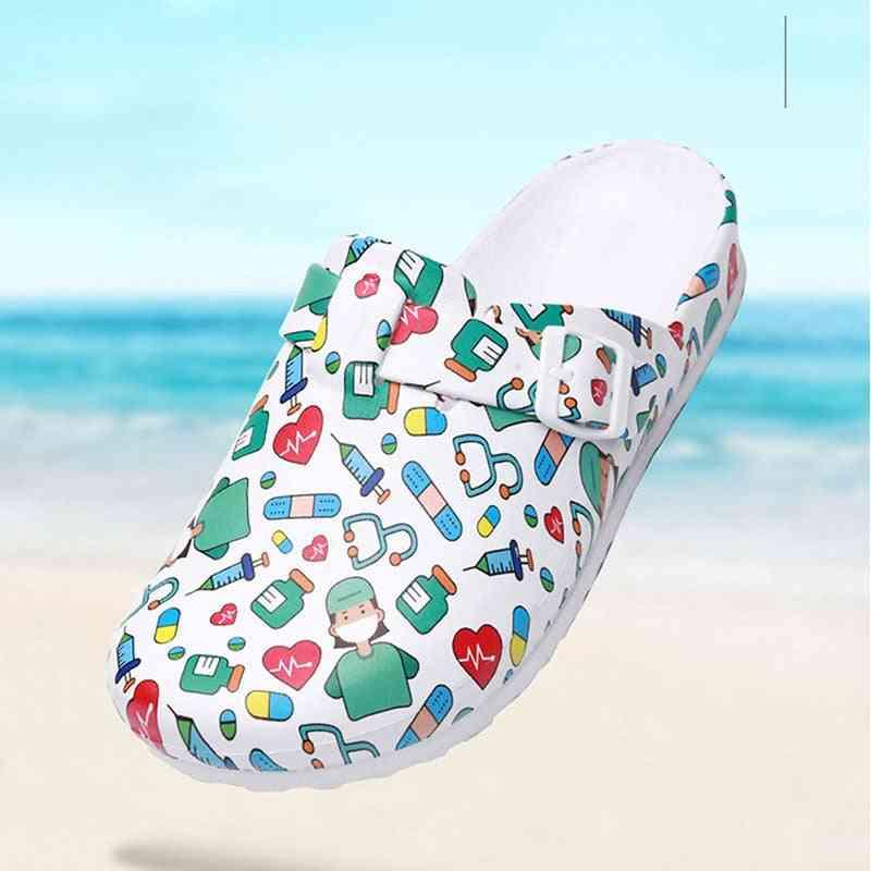 Hospital Surgical Medical Slipper Women Doctor Non-slip Nurse Medical Shoes