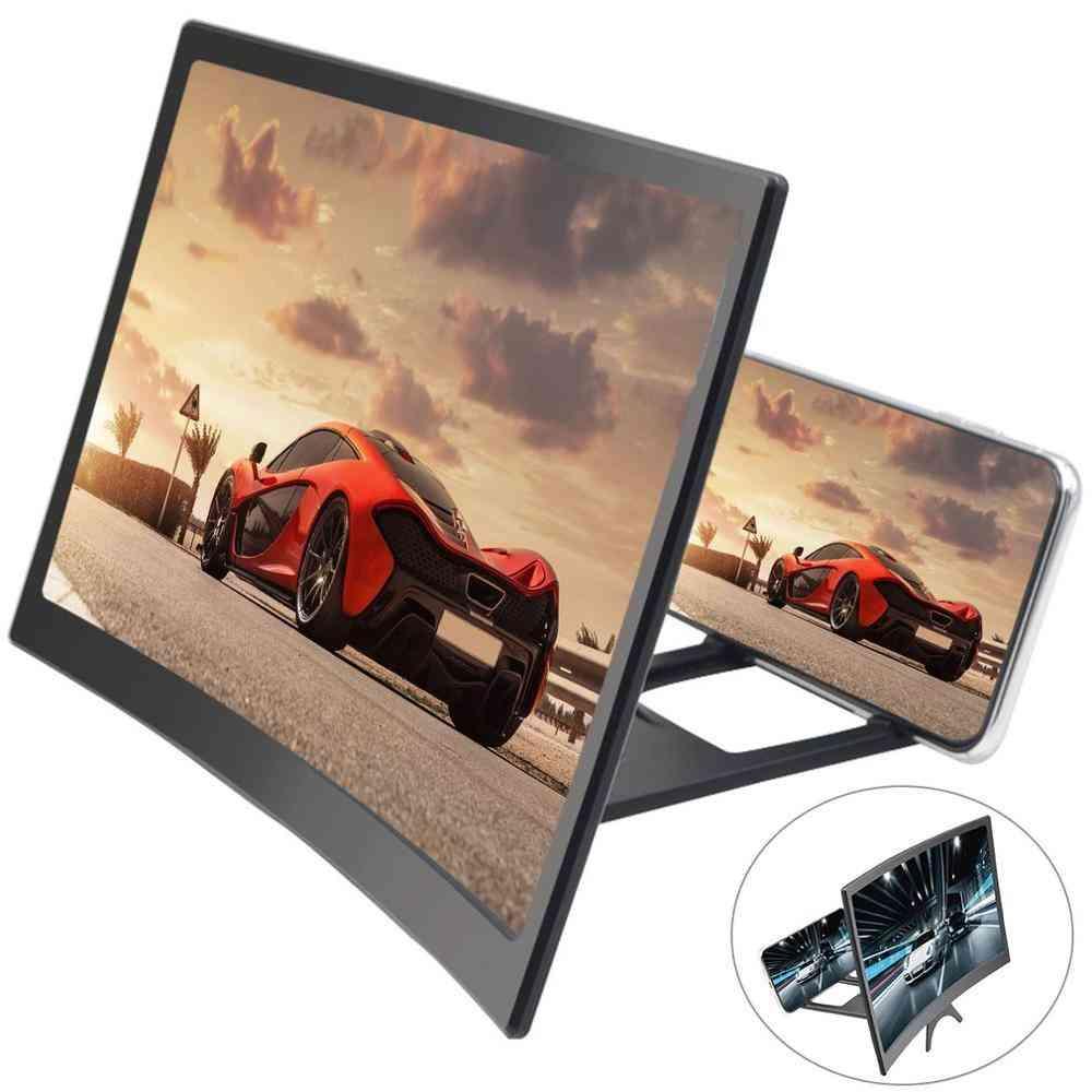3d Hd  Screen Magnifier For Smart Phones