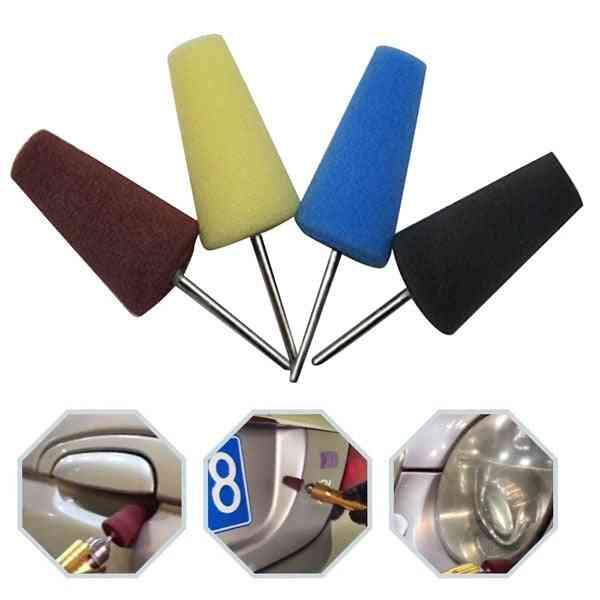 Cone Sponge- Cleaning Polishing, Brush Handle, Car Repair Tool