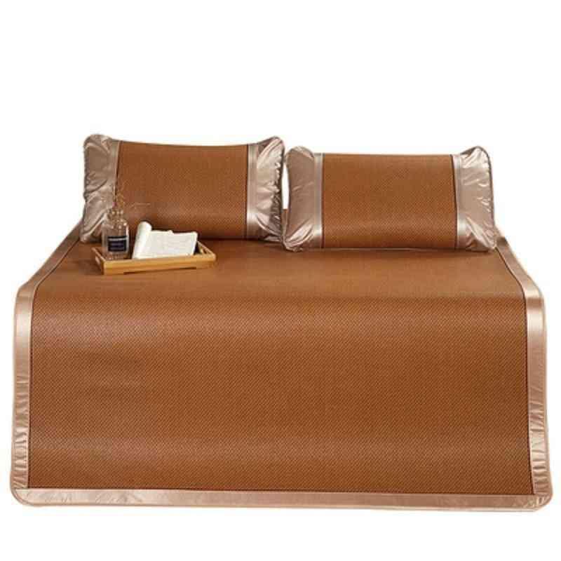 Summer Natural Rattan Mattress Thicker Floor Skin-friendly Cold Foldable Mat