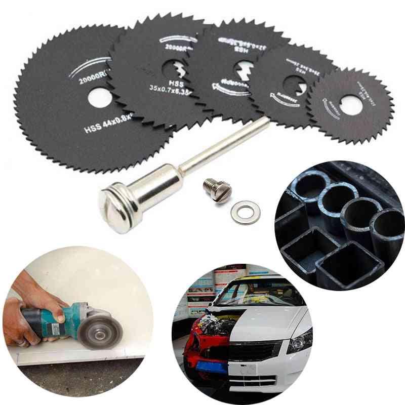 Hss Cutting Disc Rotary, Circular Saw Blades, Wheel Discs, Mandrel Tool