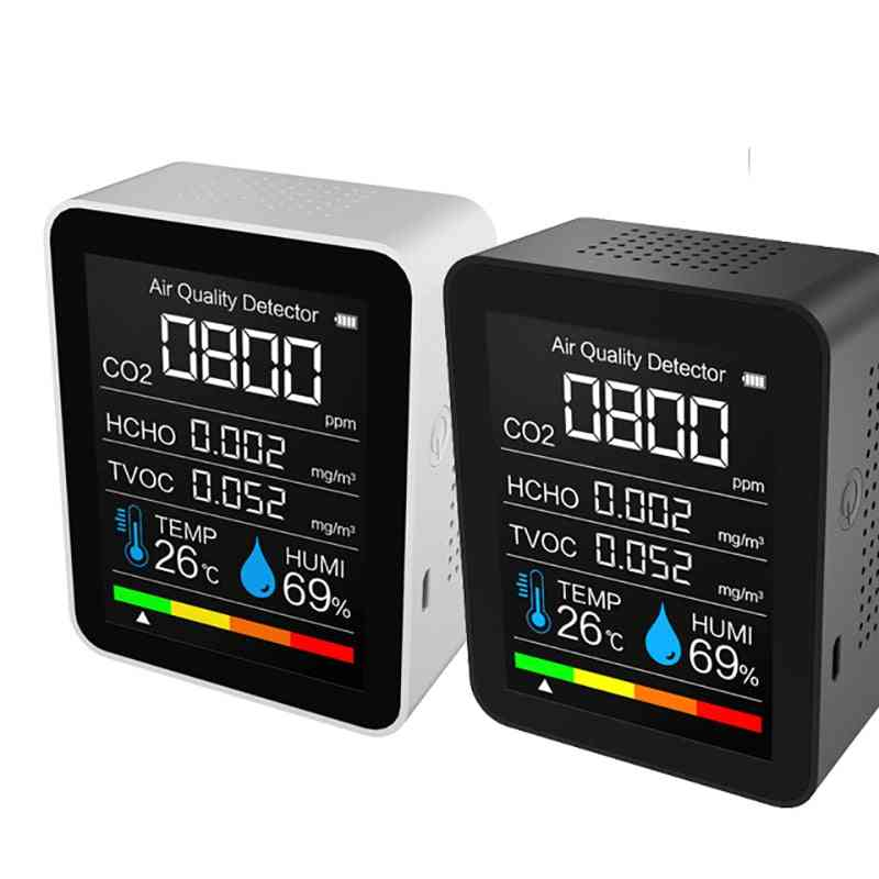 Co2 Meter Digital Temperature Humidity Sensor Tester
