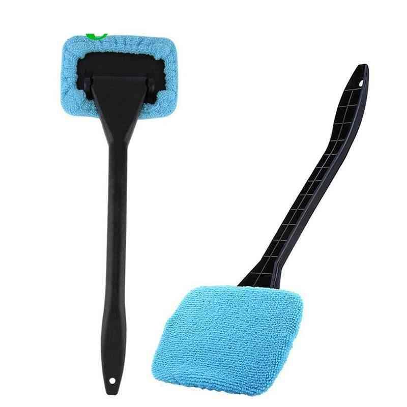 Auto Car- Wash Brush, Window Glass, Dust Cleaner, Long Handle Towel Tool
