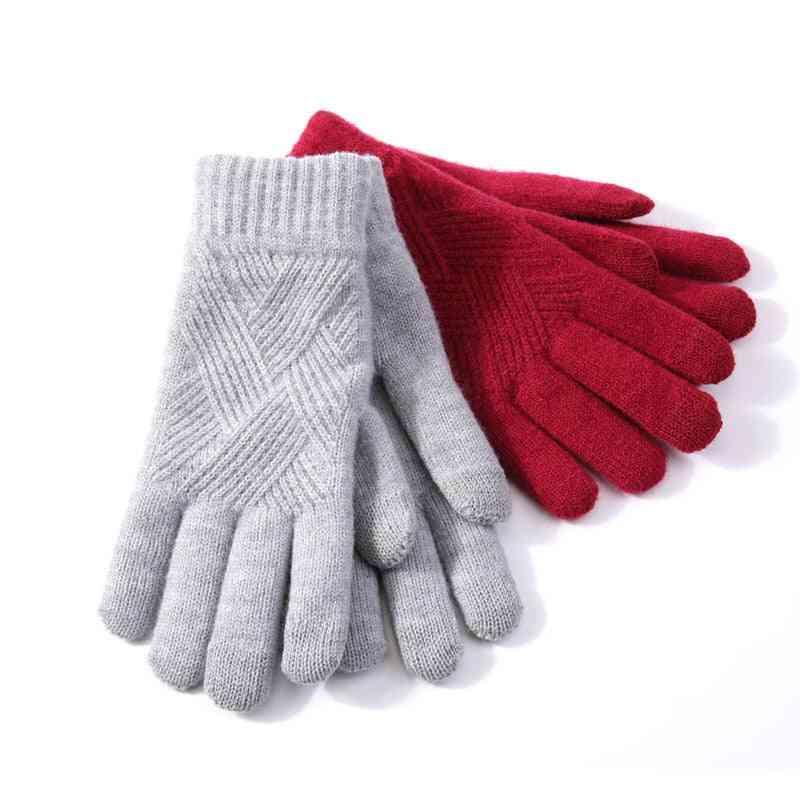Gloves For Women's, Autumn Winter Warm Glove