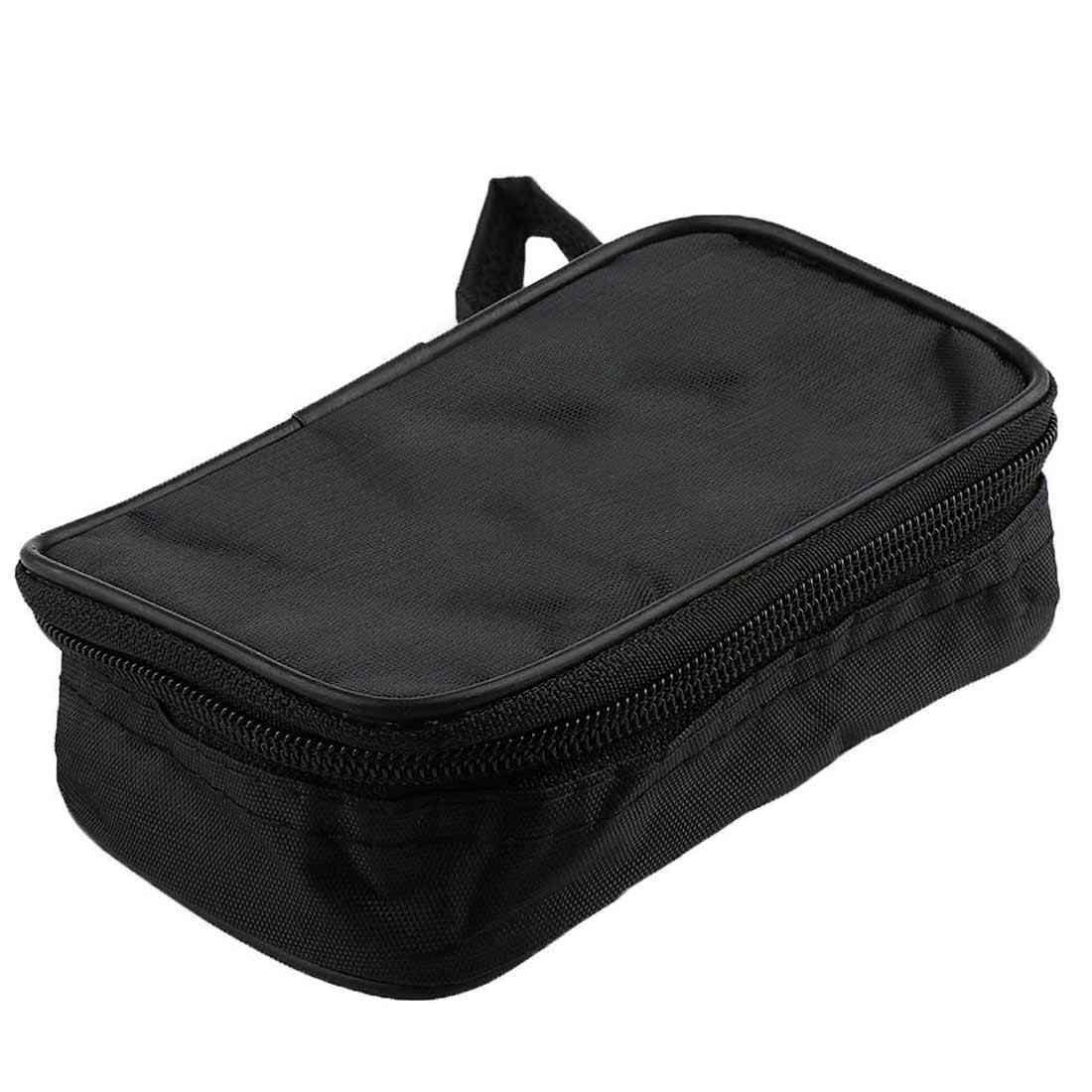Canvas Soft Case Waterproof Shockproof Multimeter Black Bag