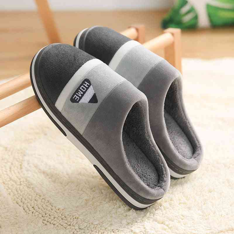 Female Winter Home Indoor Thermal Cotton Slippers