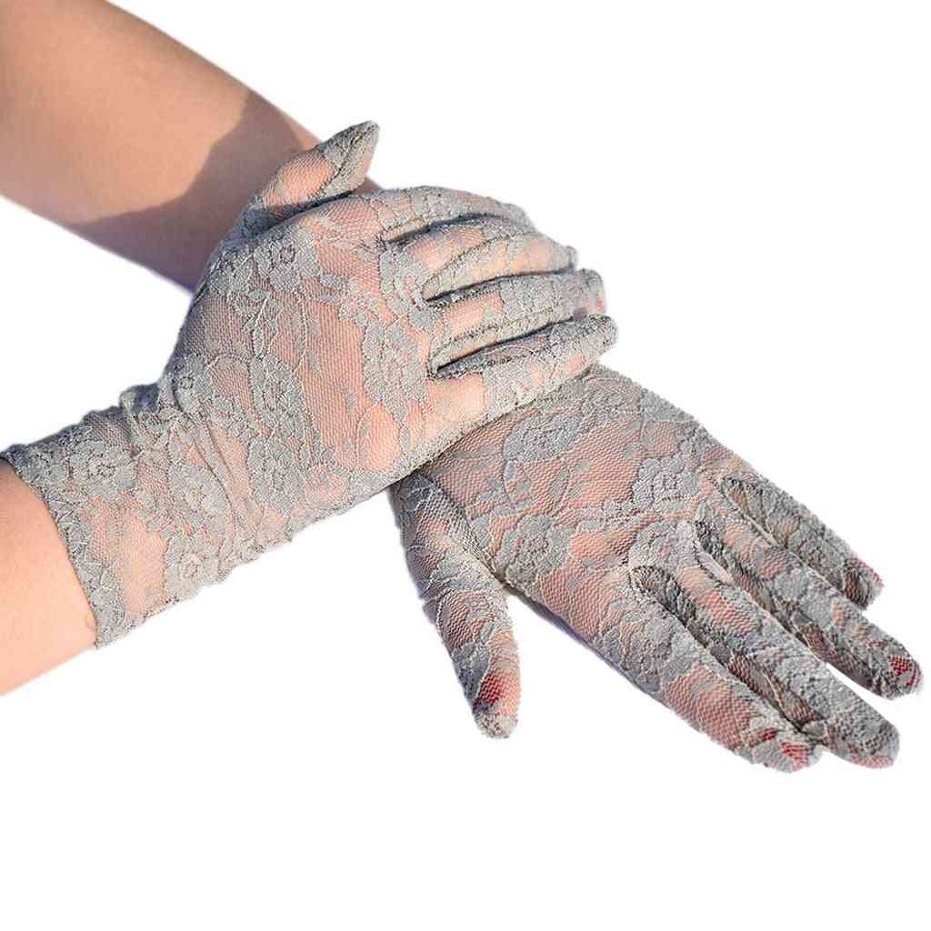 Breathable Gloves For Women, Outdoor Uv-proof Screen Gloves