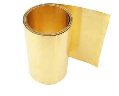 Brass Metal Thin Sheet Foil Plate Thick