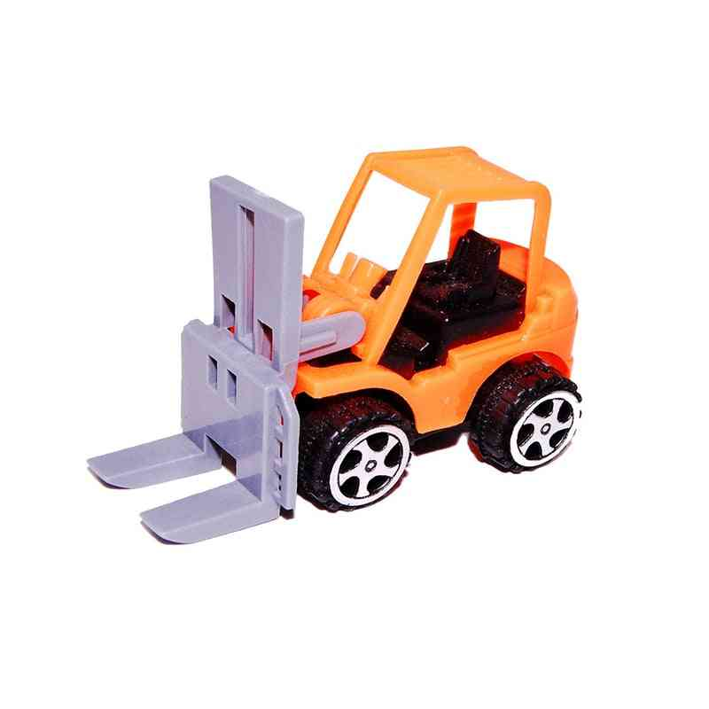 Plastic Rally Return Car Toy, Children City Engineering Vehicle Model For Truck Loaders