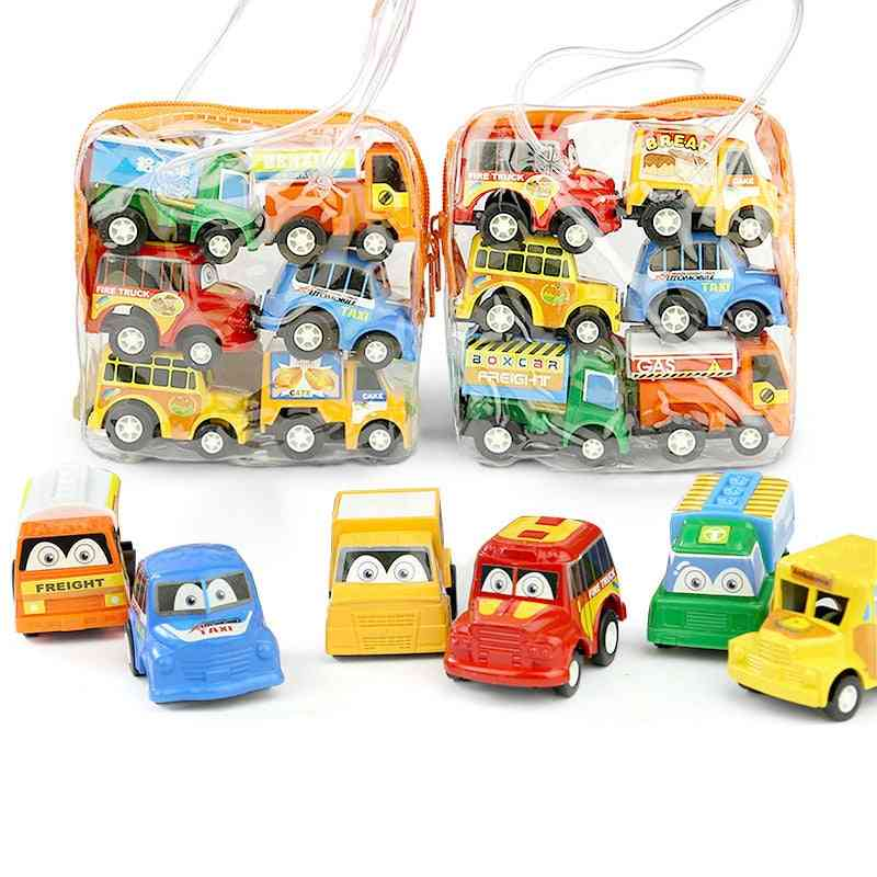 Baby Montessori, Pullback Car Mini Models Vehicle Education Toy For Children