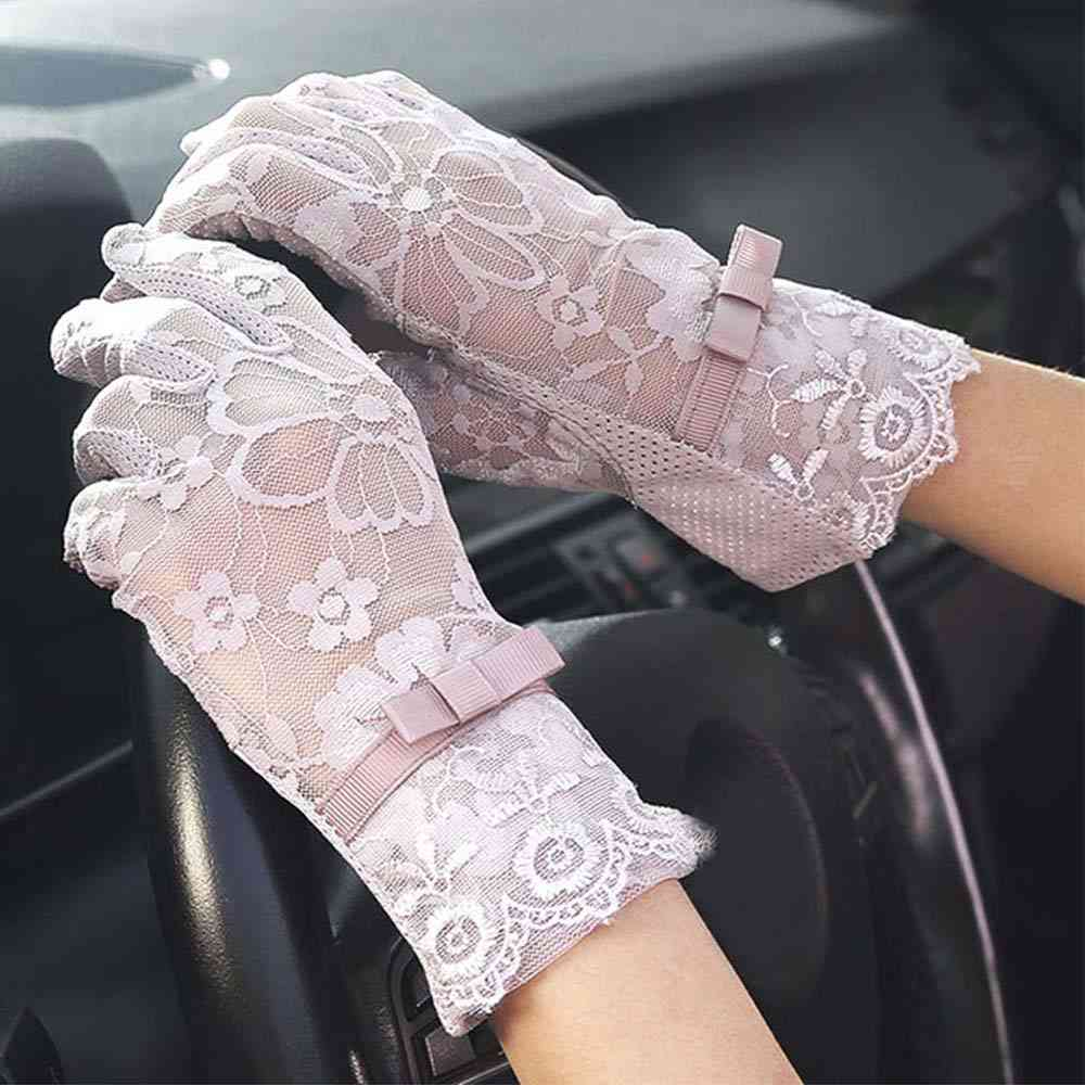 Hot Women Gloves, Sexy Summer Sun Protection Driving Gloves