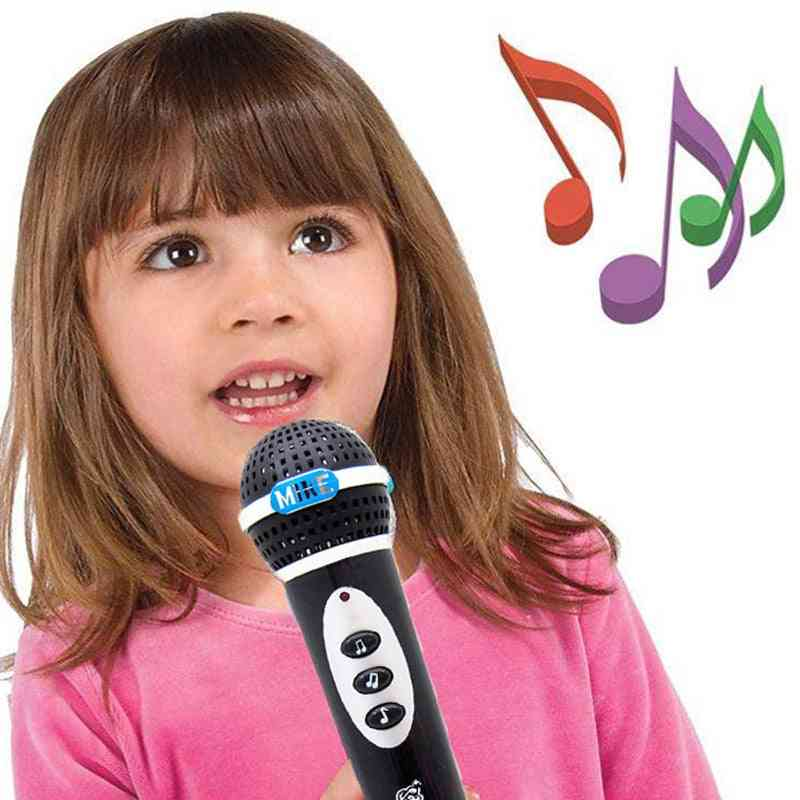 Baby Microphone Singing A Song Music For.