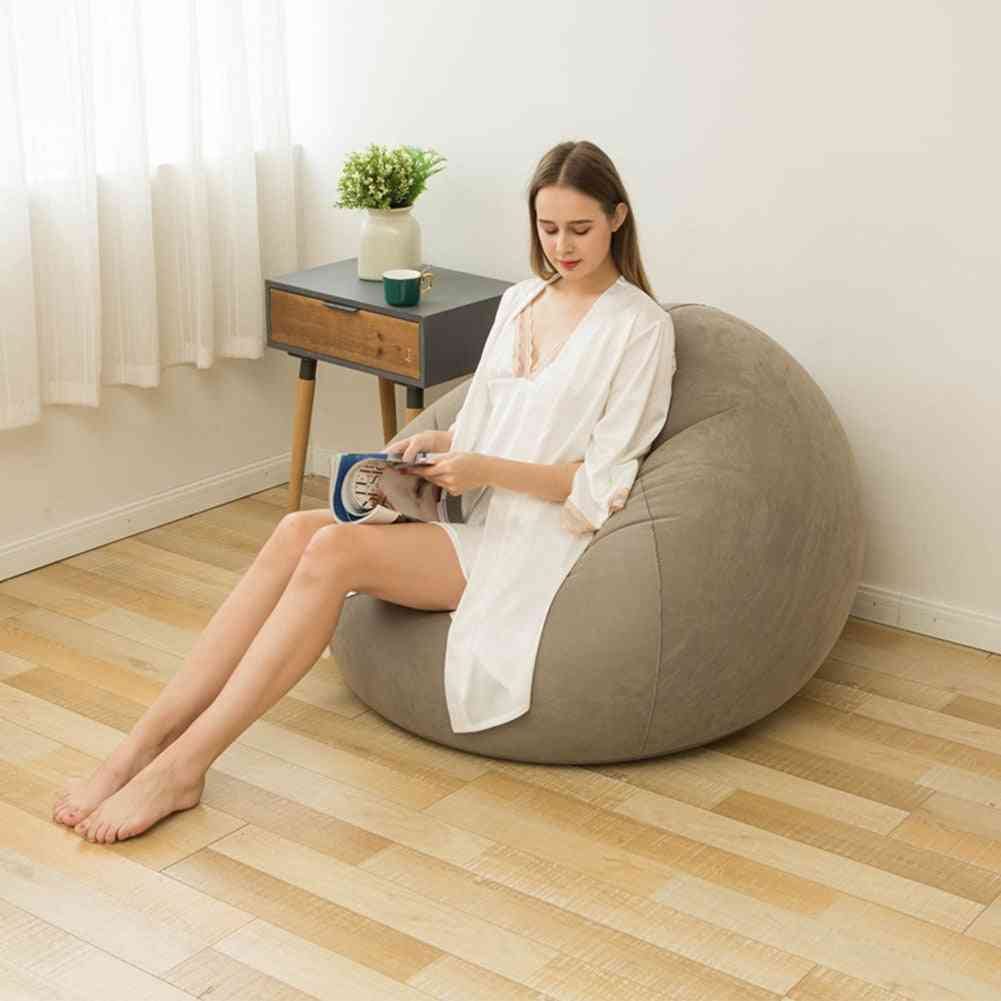 Recliner Washable Comfortable Bean Bag Chair Inflatable Lazy Sofa